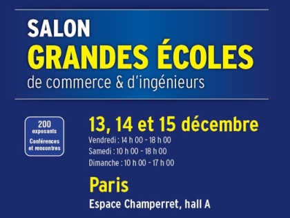 Supm ca au salon des grandes coles supmeca for Salon des ecoles de commerce