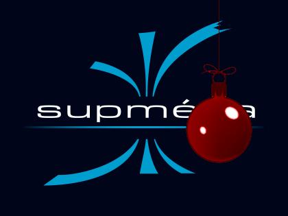Logo Supméca spécial Noël