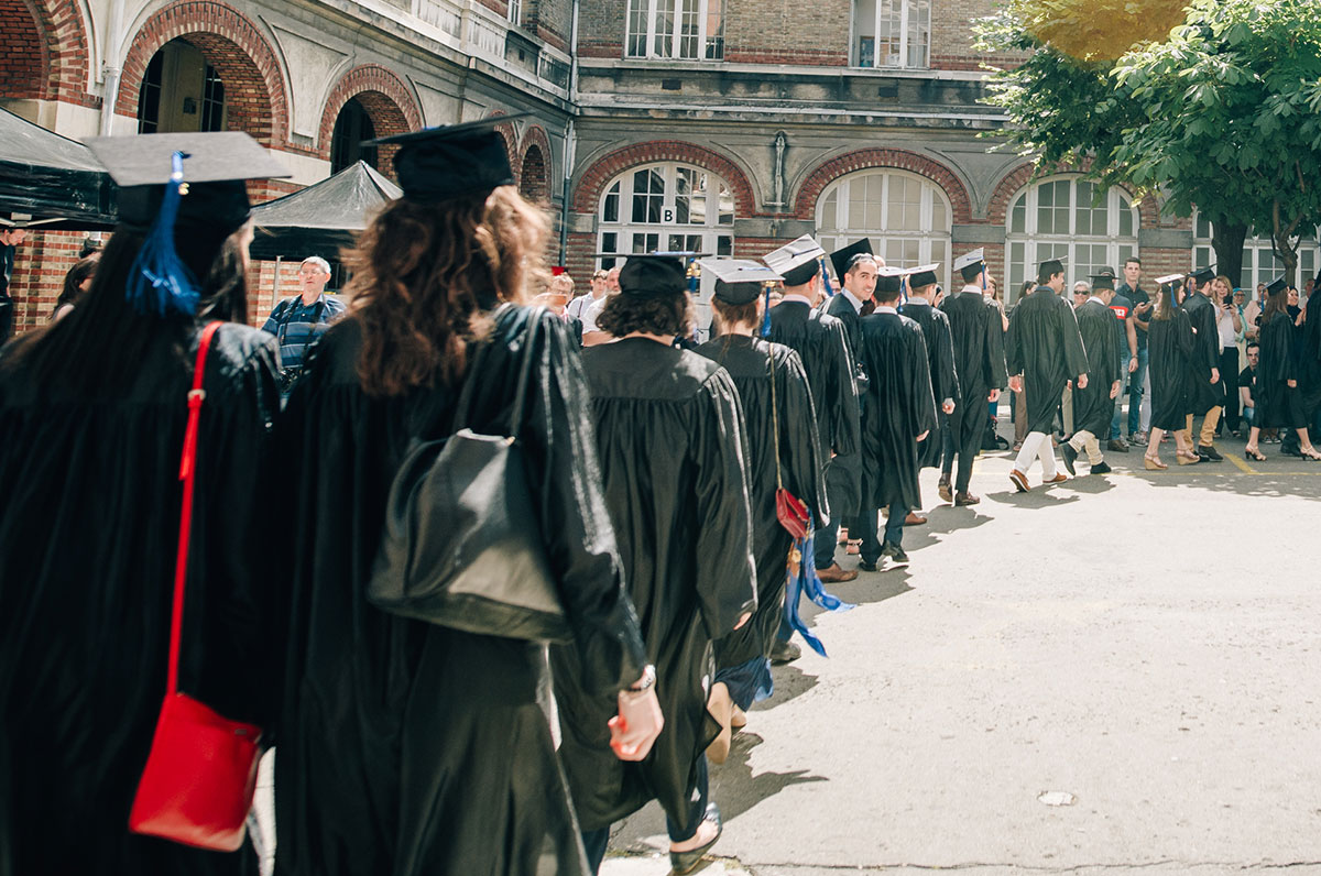Etudiants ingénieurs diplômés 2016