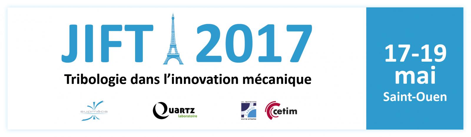 Bannière JIFT 2017 avec Supméca et ses partenaires