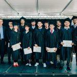 Photo d'un groupe d'étudiants ingénieurs de Supméca lors de la remise des diplômes en 2016