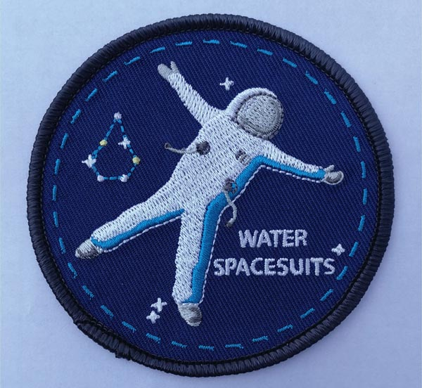 Ecusson Water Space Suits