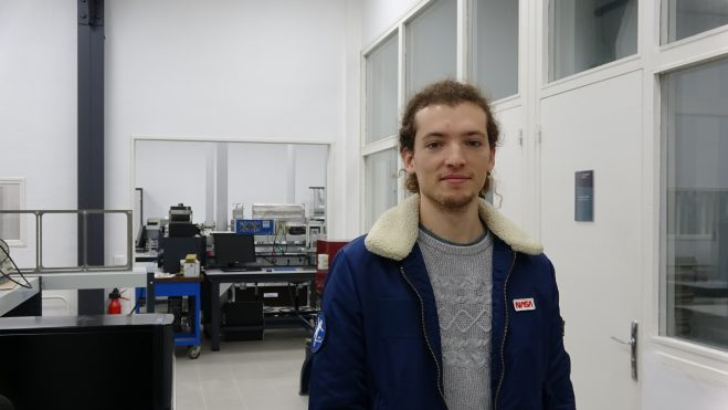 Photo de Sébatien Rulhmann à Supméca