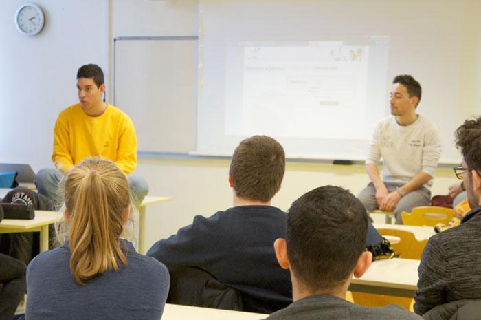 Échange entre étudiants à l'International Day Supméca