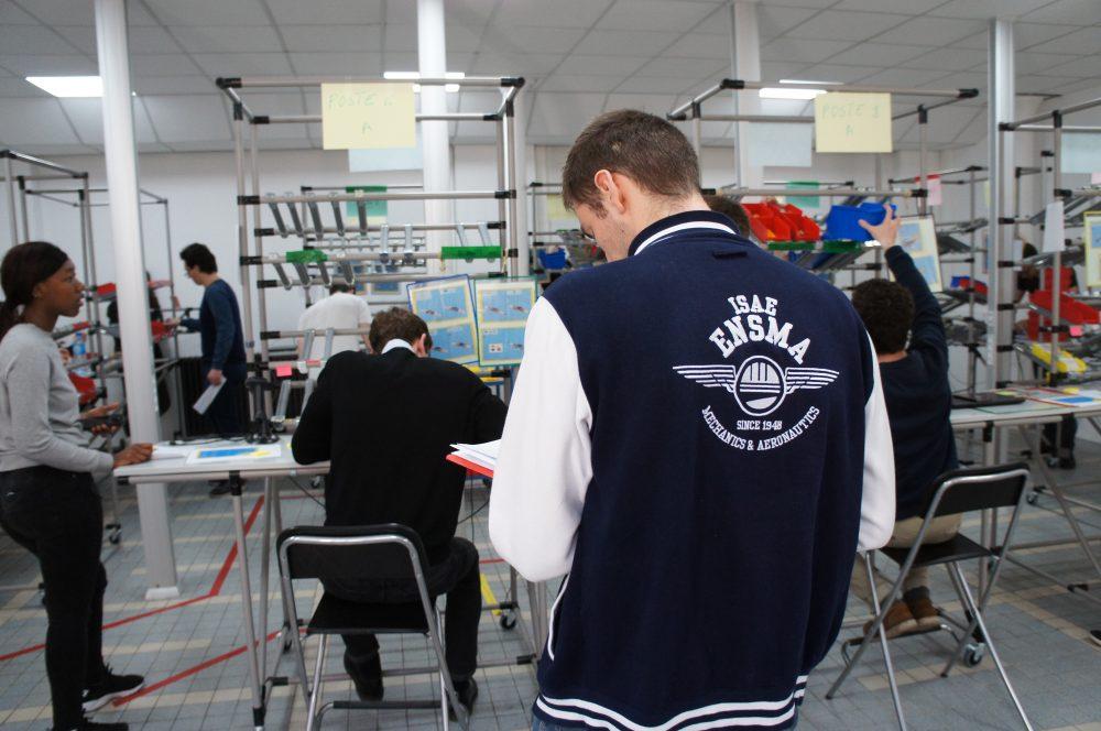 Semaine mobilité Groupe ISAE au Lean Lab Supméca