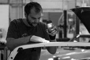 Julien Lopez, diplômé de Supméca, promo 2008, directeur qualité chez Singer Vehicle Design