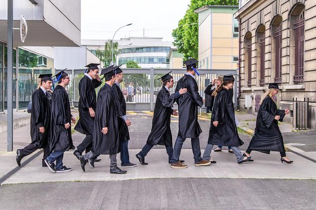Cérémonie de remise des diplômes - photo de la RDD 2015