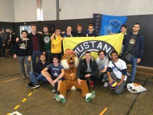 Photo de l'équipe de Supméca ayant participé aux EAG
