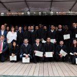 photos remises des diplômes de Supméca, promo 2018, filières par filières
