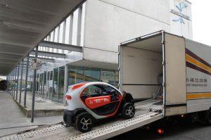 Renault embarque la SupTwizy de Supméca