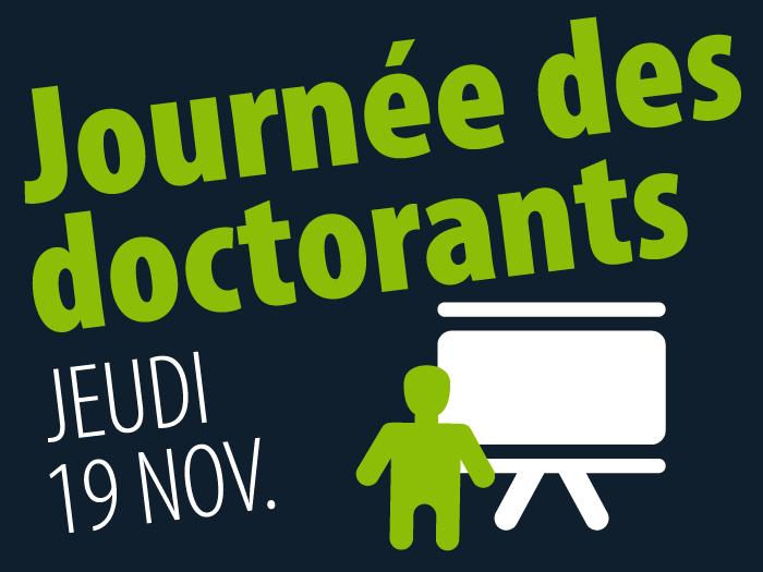 Journée des doctorants à Supméca jeudi 19 novembre