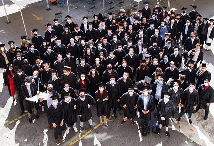 Diplômés de la promotion 2020 ISAE-Supméca